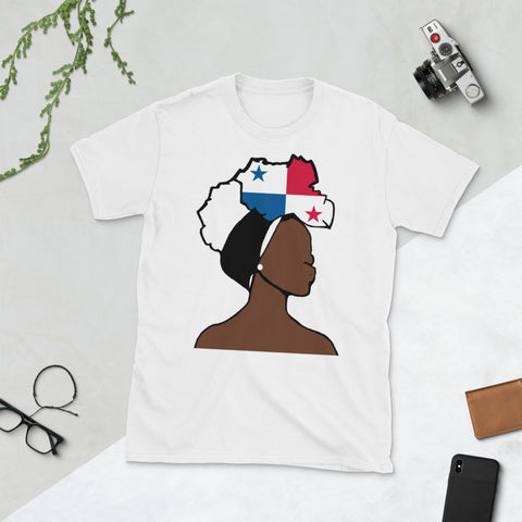 Panama Head Wrap Queen Unisex T-shirt