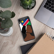 Namibia Head Wrap Queen iPhone Case