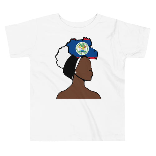 Belize Head Wrap Queen Toddler Premium Tee