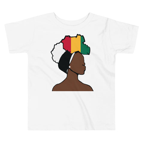 Guinea Head Wrap Queen Toddler Premium Tee