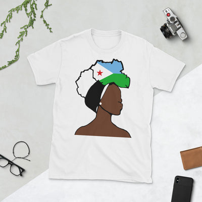Djibouti Head Wrap Queen Unisex T-shirt