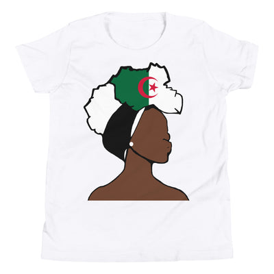 Algeria Head Wrap Queen Youth Premium Tee