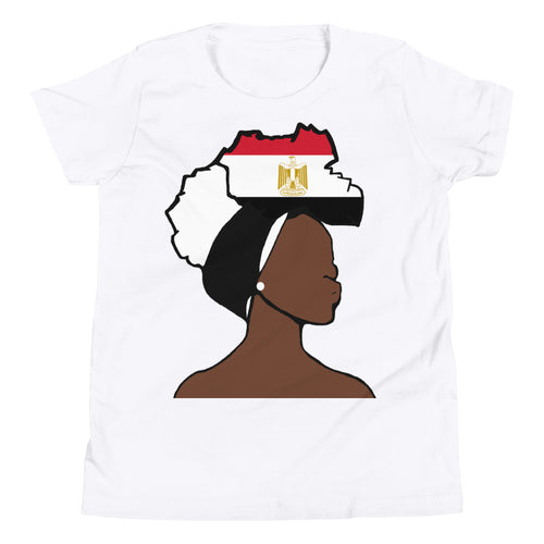 Egypt Head Wrap Queen Youth Premium Tee