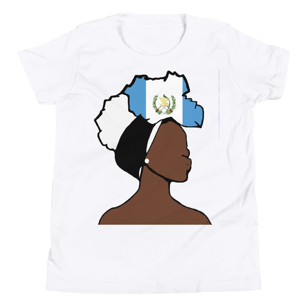 Guatemala Head Wrap Queen Youth Premium Tee