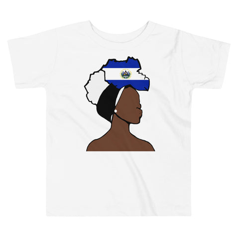 El Salvador Head Wrap Queen Toddler Premium Tee