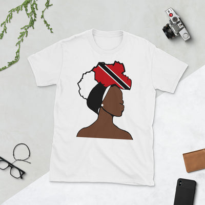 Trinidad and Tobago Head Wrap Queen Unisex T-shirt
