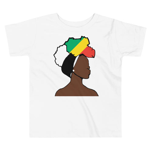 Congo Head Wrap Queen Toddler Premium Tee