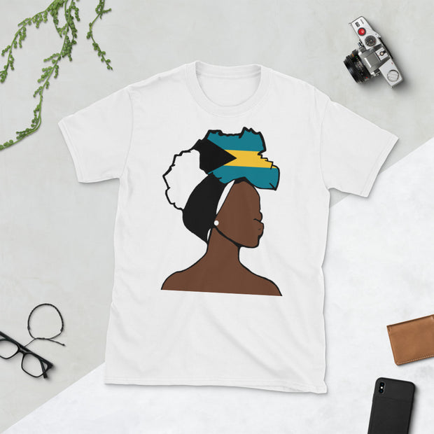 Bahamas Head Wrap Queen Unisex T-shirt