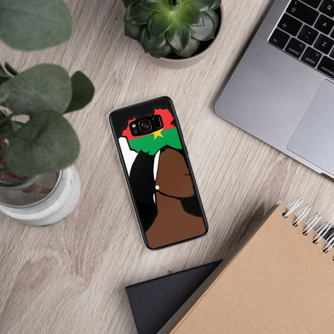 Burkina Faso Head Wrap Queen Samsung Case