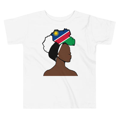 Namibia Head Wrap Queen Toddler Premium Tee