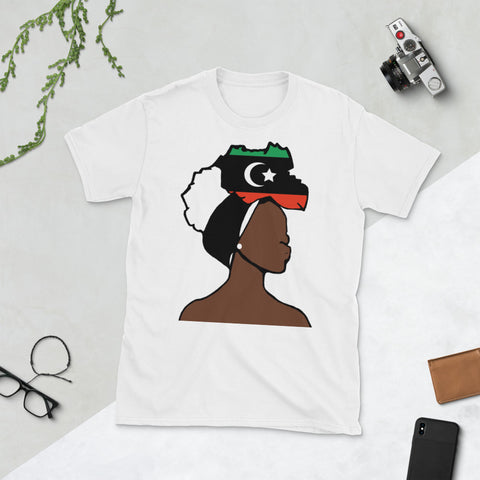 Libya Head Wrap Queen Unisex T-shirt