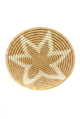 Small Rwandan Sisal Songa Star Basket
