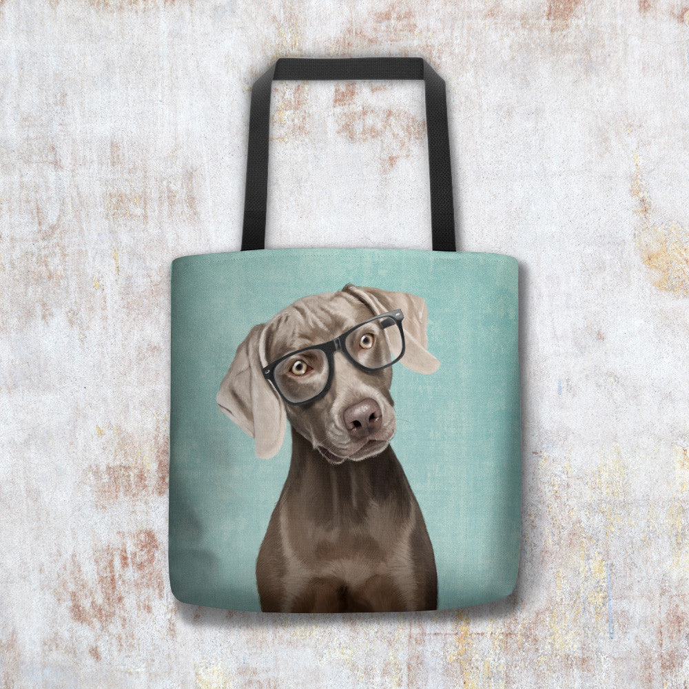 Yorkshire Eyetest Funny Ethically Produced Eco Tote Bag