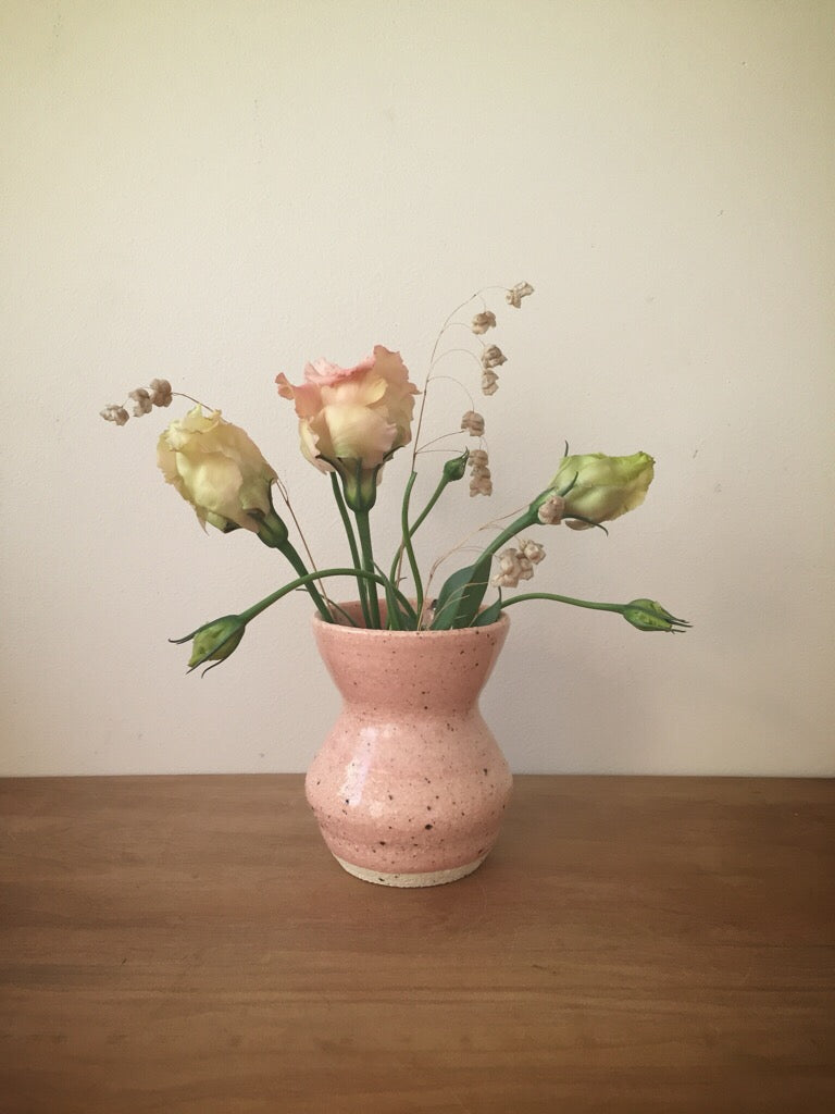 bud vase 40 - one of a kind - pale rose