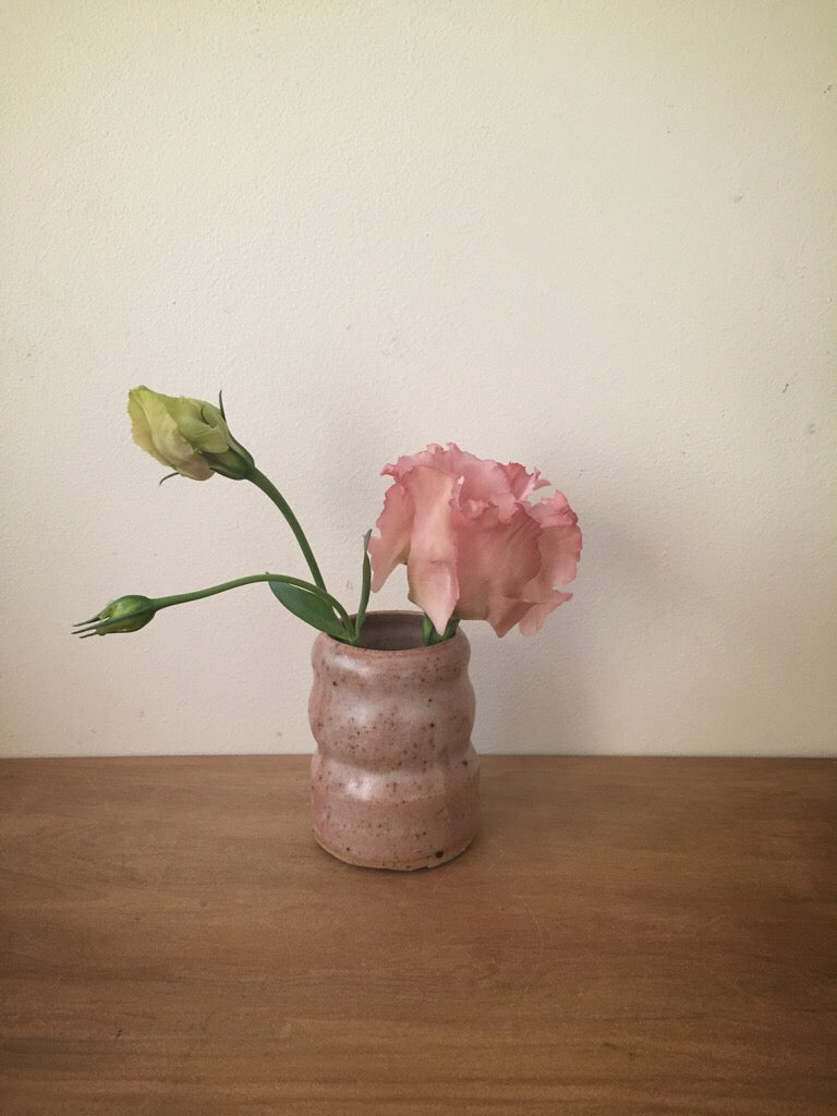 bud vase 44 - one of a kind - rose