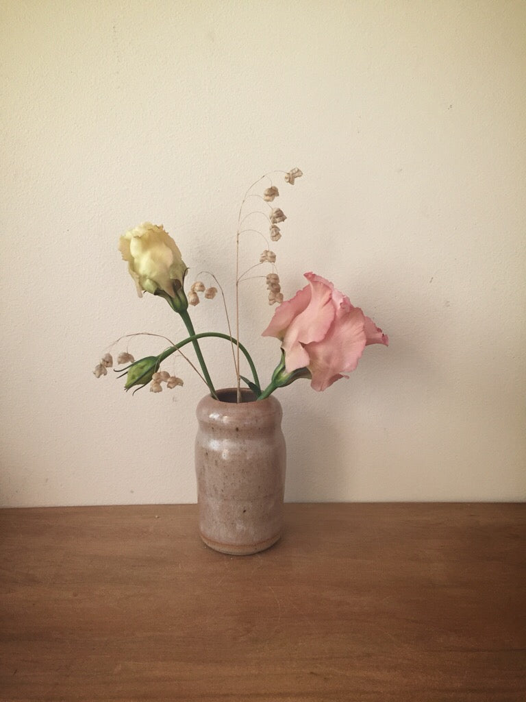 bud vase 45 - one of a kind - rose