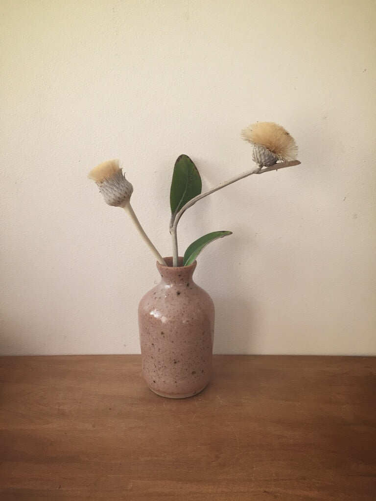 bud vase 43 - one of a kind - rose