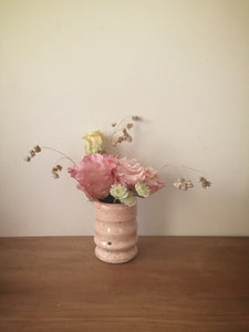 bud vase 41 - one of a kind - pale rose