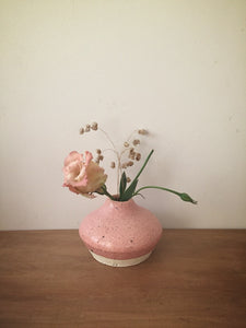 bud vase 47 - one of a kind - rose
