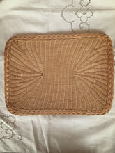 cane rectangular placemat