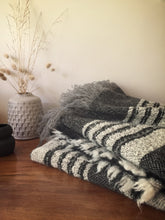 pure wool limited edition blanket - black - LAST ONE