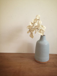 bud vase 11 - one of a kind - sea blue
