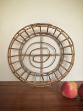 Load image into Gallery viewer, cane oval basket / tray