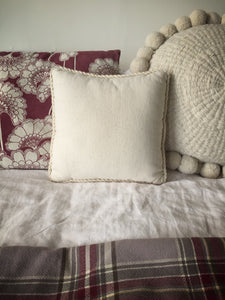 needlecraft wool cushion