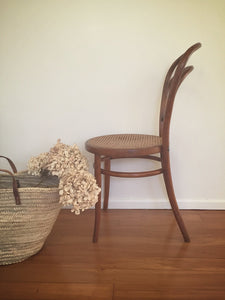 bentwood rattan chair
