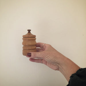 wooden lidded vessel