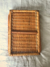 Cane drinks tray
