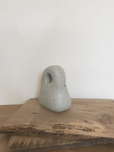 handbuilt sculpture 11 - sea blue