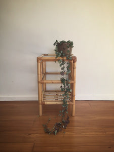 Triple cane side table / plant stand