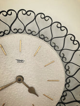 Load image into Gallery viewer, German mid century Diehl  wall clock