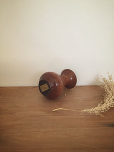 Handcrafted wood bud vase