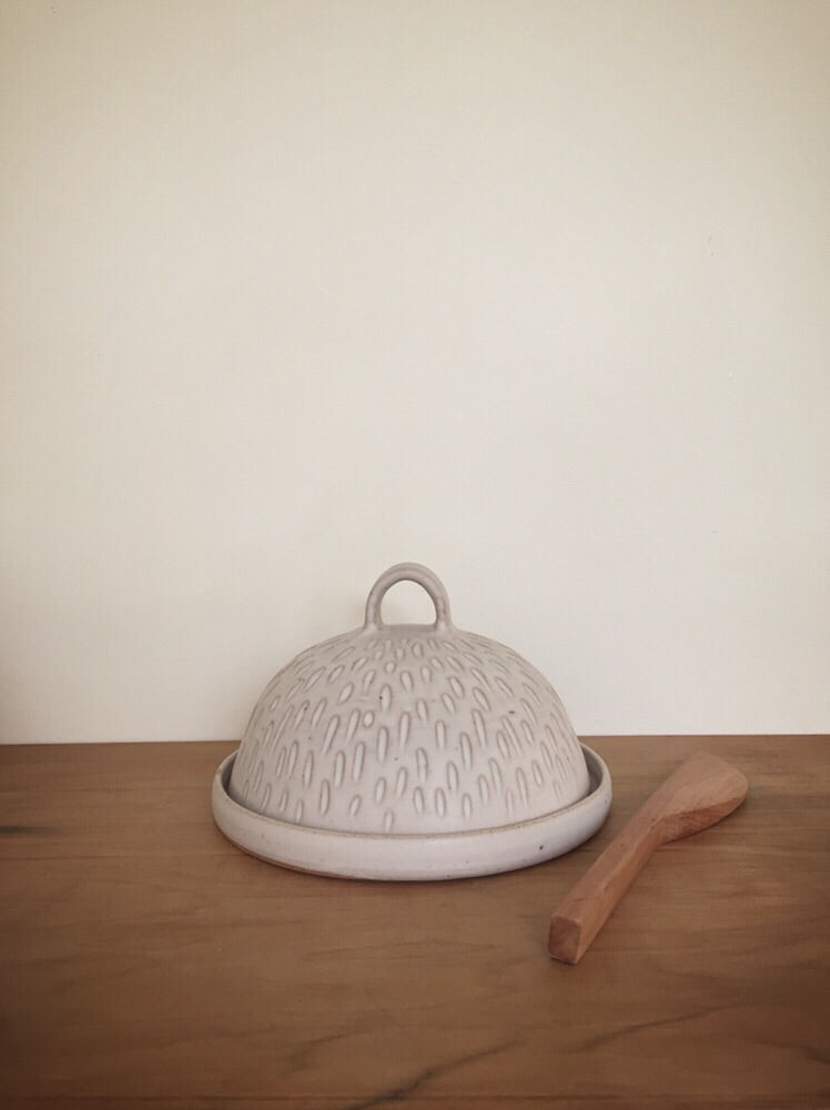 Butter dish - preorder for April despatch