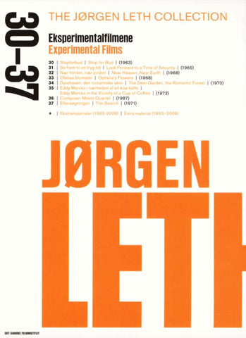 Jørgen Leth Collection #6 - Eksperimentalfilmene / Experimental Films