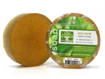 Just Neem-Bay Rum Neem Soap