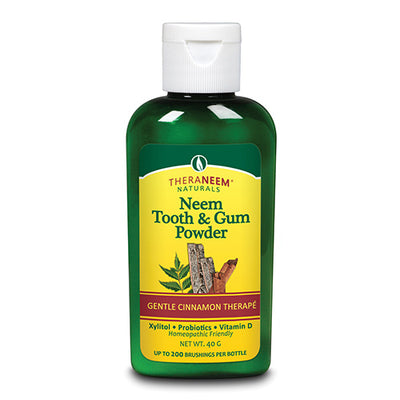 TheraNeem Tooth & Gum Powder-Cinnamon