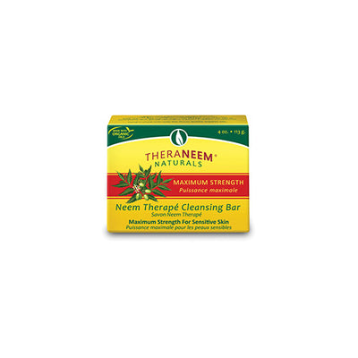 TheraNeem Maximum Strength Neem Oil Cleansing Bar