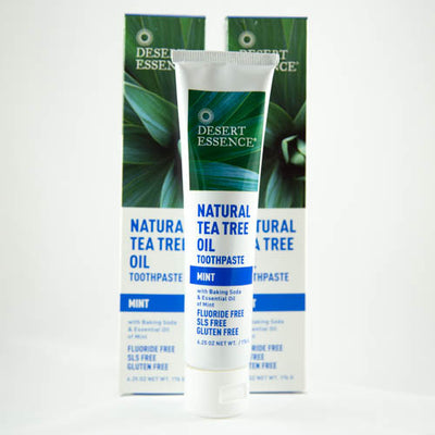 Desert Essence Natural Tea Tree Toothpaste
