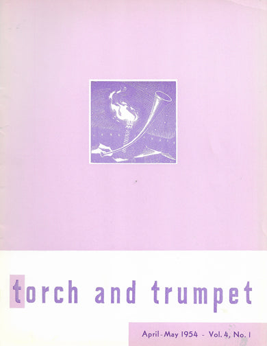 1954-01 April May Torch Trumpet Digital - Volume 4, Issue 1