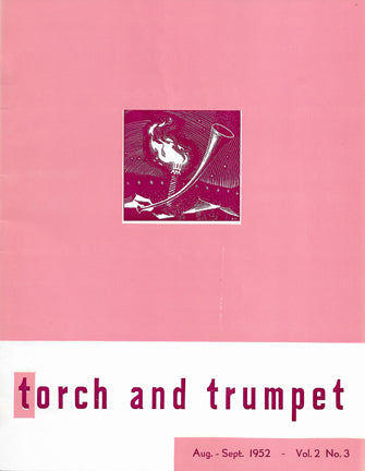 1952 -03 Aug Sept Torch Trumpet Digital - Volume 2, Issue 3