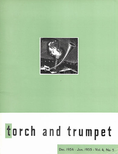 1954-05 December January Torch Trumpet Digital - Volume 4, Issue 5