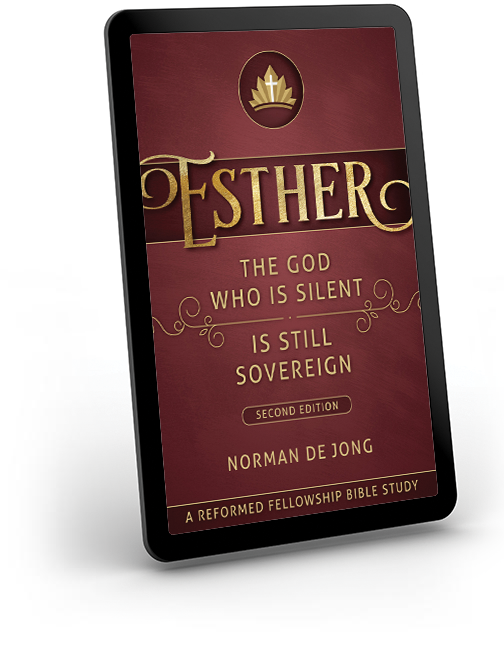 Esther Kindle Edition - The God Who Is Silent Is Still Sovereign Second Edition