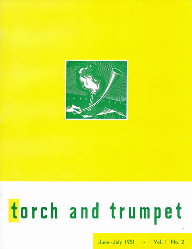 1951-02 Jun Jul Torch Trumpet Digital - Volume 1, Issue 2