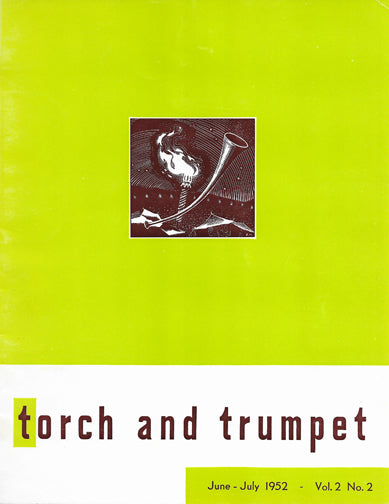 1952 -02 Jun Jul Torch Trumpet Digital - Volume 2, Issue 2