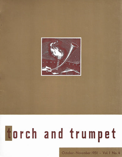 1951-04 Oct Nov Torch Trumpet Digital - Volume 1, Issue 4