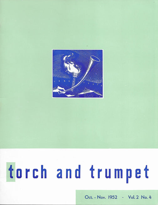 1952 -04 Oct Nov Torch Trumpet Digital - Volume 2, Issue 4