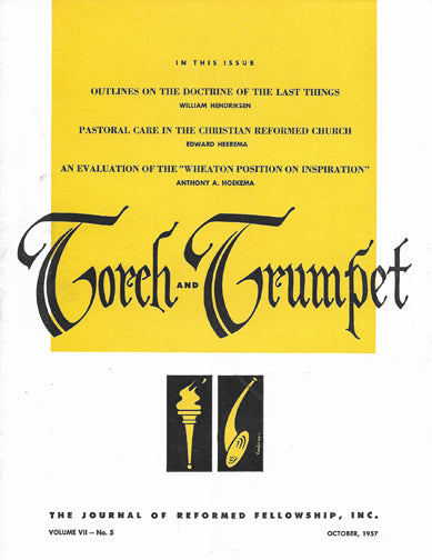 1957-5 October Torch Trumpet Digital - Volume 7, Issue 5